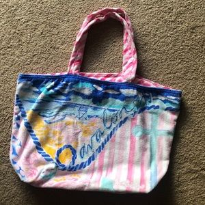 Lilly Pulitzer Avalon tote bag